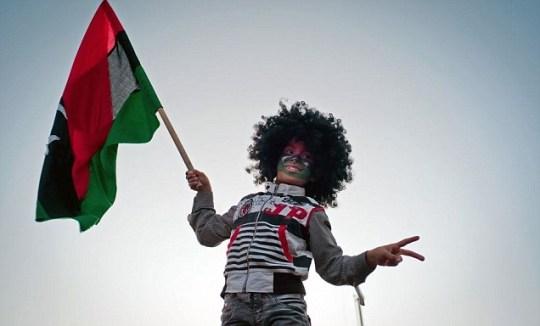 A Libyan child