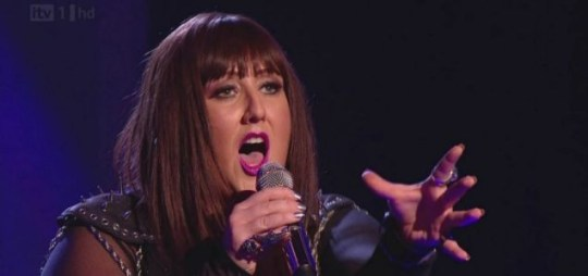Sami Brookes was kicked off The X Factor on Sunday night. (Picture: ITV)