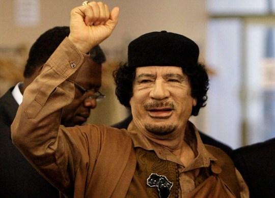 Colonel Muammar Gaddafi buried Libya secret location