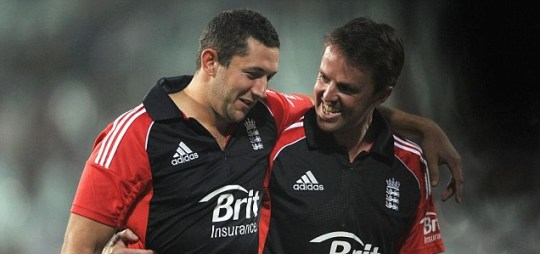 Tim Bresnan and Graeme Swann