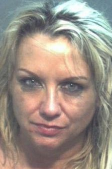 Mary Gorman's police mugshot after her arrest at Orlando's Ritzy Club