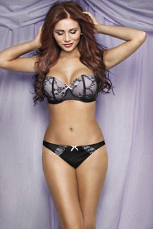 Former TOWIE babe Amy Childs shows her true (West Ham) colours ...
