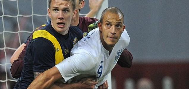 England's Bobby Zamora