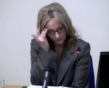 JK Rowling Leveson Inquiry