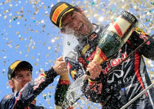 Sebastian Vettel Brazilian F1 Grand Prix
