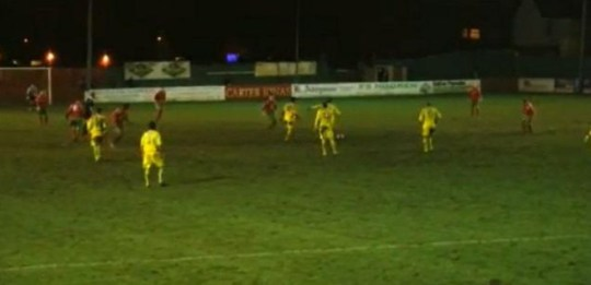 Harrogate Railway 3-4 Guiseley: Danny Forrest Scores 92nd-Minute Winner From Halfway Line.