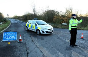 A12 concrete blocks police probe