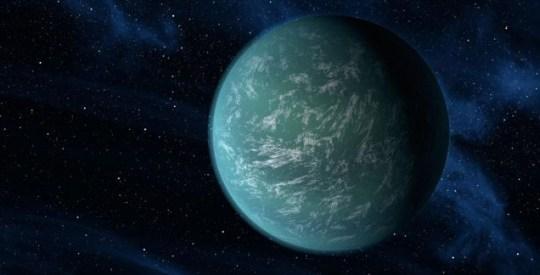Kepler-22b artist's illustration