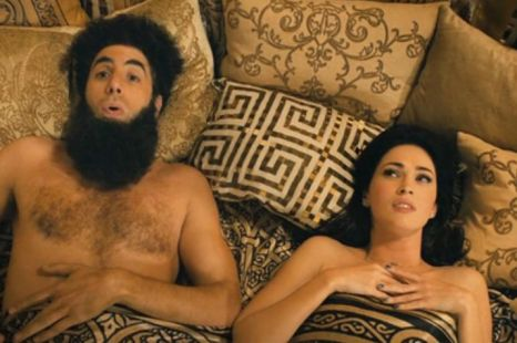 The Dictator, Sacha Baron Cohen, Megan Fox
