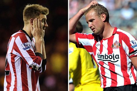 Nicklas Bendtner Lee Cattermole arrested Sunderland Newcastle city centre