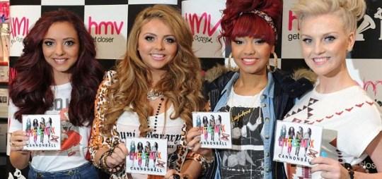 X Factor winners Little Mix