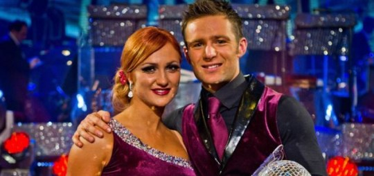 Harry Judd Strictly Come Dancing Aliona Vilani