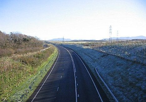 Lisa Suddart was struck as she walked along the A66 Stainburn bypass in Workington
