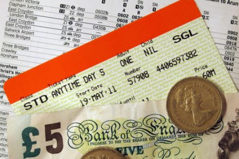 Train fares will rise by an average of 5.9% in January