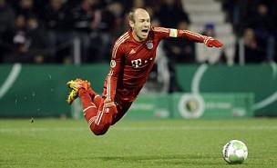 Bayern's Arjen Robben