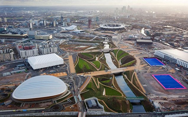 London 2012 Olympic Park Games venues