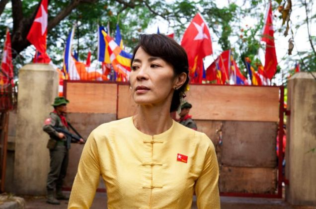 Michelle Yeoh, Aung San Suu Kyi, The Lady