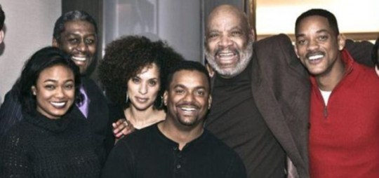 A Prince For Christmas Cast.Will Smith Reunited With Fresh Prince Of Bel Air Cast For