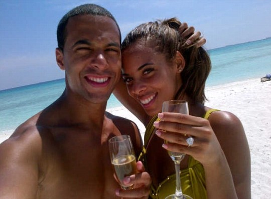 Rochelle Wiseman and Marvin Humes engaged