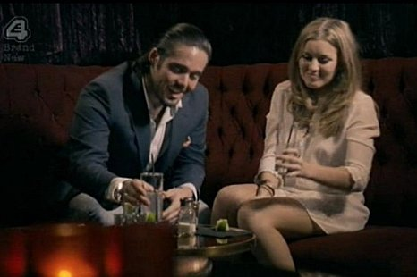 Made in Chelsea's Caggie and Spencer turned turned their hands to cooking. (Picture: E4)