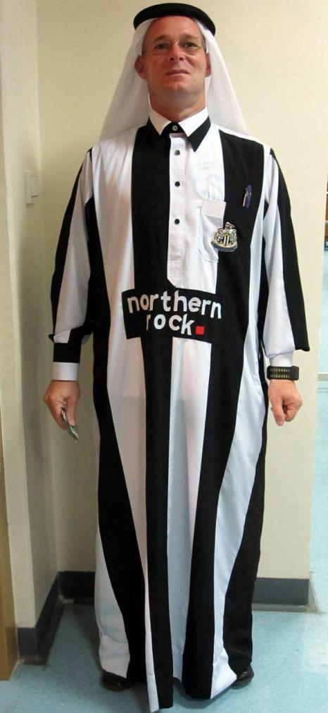 James Charnock newcastle united robe qatar