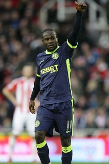 Wigan's Victor Moses