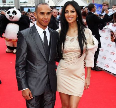 Lewis Hamilton and Nicole Scherzinger Colorado