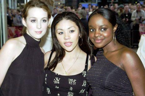 Original Sugababes Siobhan Donaghy, Mutya Buena and Keisha Buchanan