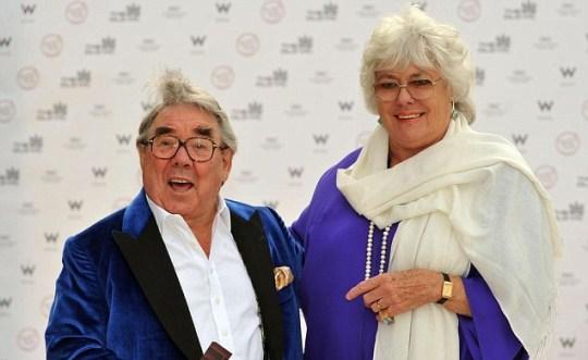 Ronnie and Anne Corbett