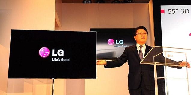 CES 2012, LG Electronics