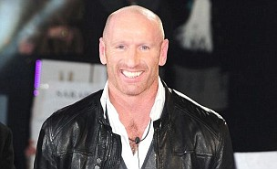 Gareth Thomas enters the Celebrity Big Brother House