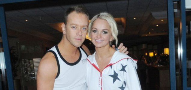 Jennifer Ellison and Dan Whiston have been given a head start on dancing on ice