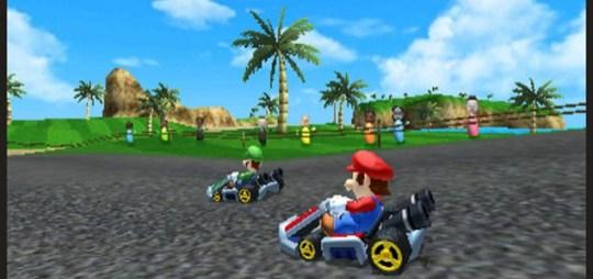 Mario Kart 7 - gentleman's rules only