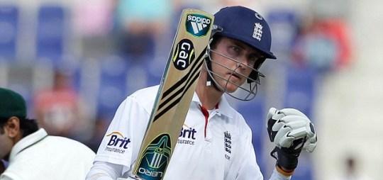 England's Stuart Broad