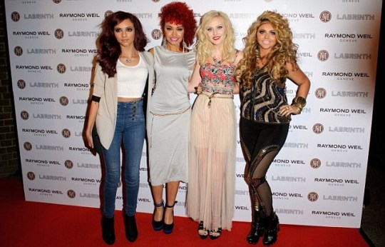Perrie Edwards, Jesy Nelson, Leigh-Anne Pinnock and Jade Thirlwall of Little Mix