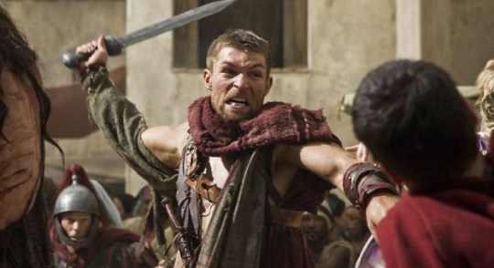 Spartacus: Vengeance's acting came chopped from the nearest forest (Picture: Sky)