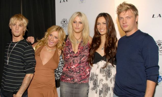 Nick and Aaron Carter, Leslie Carter