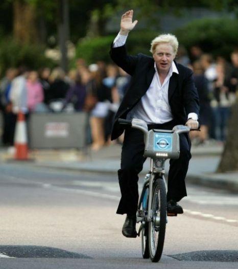Cycling, Boris Johnson