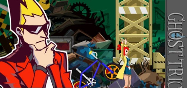 Ghost Trick: Phantom Detective (iPhone) - Sissel the friendly ghost