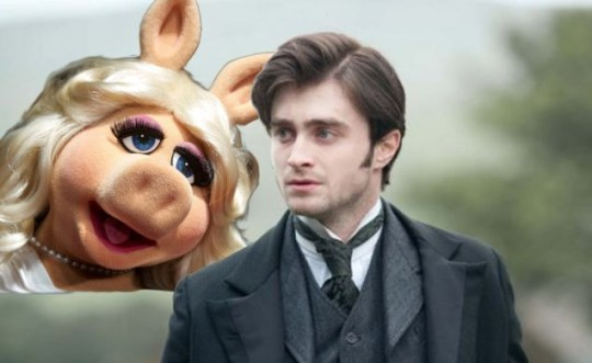 Film Face-Off, the Woman in Black, The Muppets.
