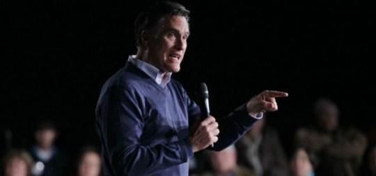 Mitt Romney, Republican.
