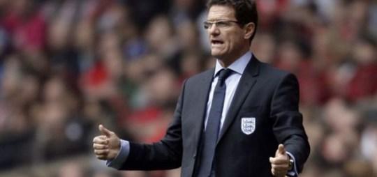 Fabio Capello England John Terry Euro 2012 Harry Redknapp