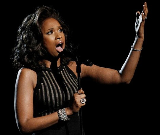 Jennifer Hudson performs I Will Always Love You at Grammys
