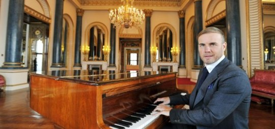Gary Barlow recently visited Buckingham Palace to help promote the Diamond Jubilee Concert (Picture: PA)