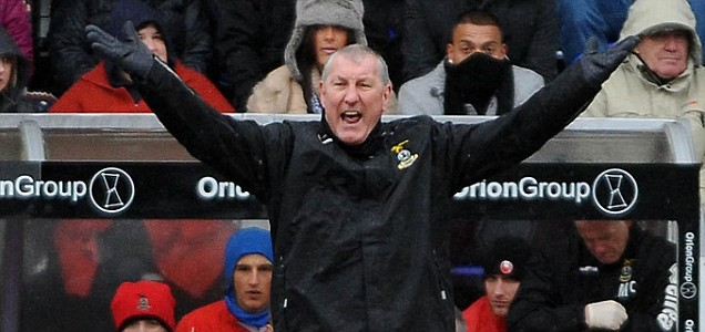 Former Rangers captain and current Inverness manager Terry Butcher
