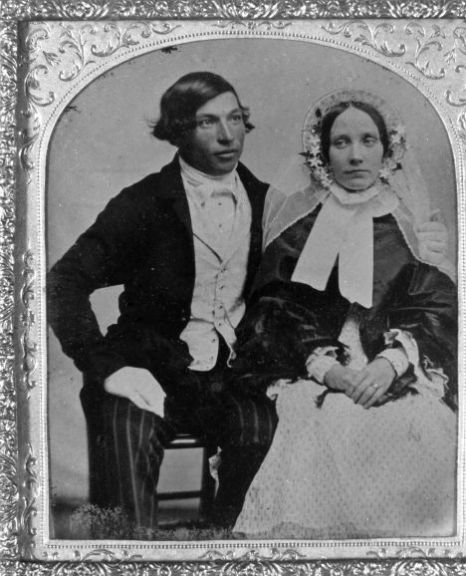 Britain's Oldest Wedding Photograph