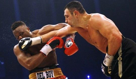 Dereck Chisora takes Vitali Klitschko the distance in WBC