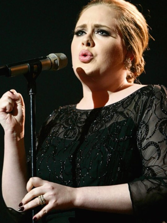 Adele stole the show at last year's Brit Awards
