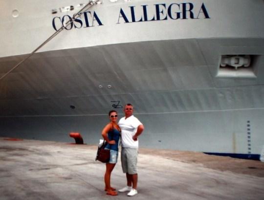 Rebecca Thomas, Costa Allegra