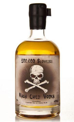 The naga chilli vodka